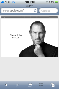 Steve's Passing